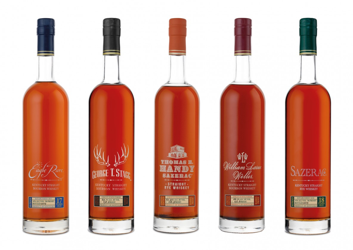Buffalo Trace Antique Collection 2015 Releases