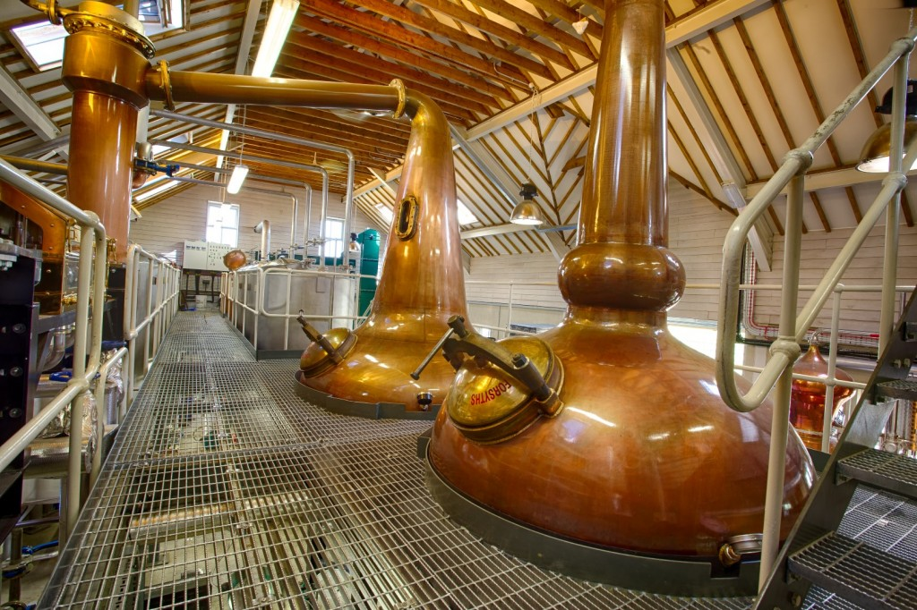 Cotswold Distillery still house