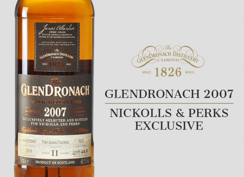 N&P Exclusive GlenDronach 2007
