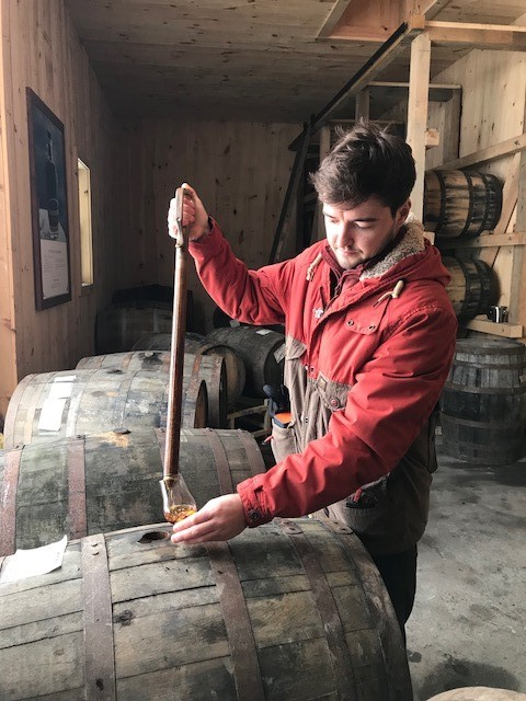 sampling from the cask